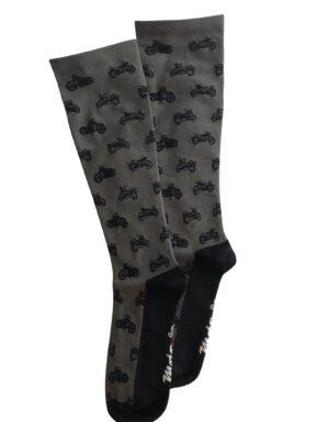 Men's Performance Socks - Gray