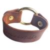 MotoChic Madison leather bracelet x SPM Design Works