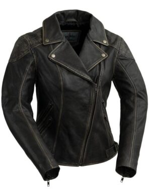 Stephanie Women's Moto Fashion Jacket