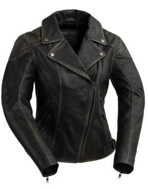 Stephanie Women's Moto Fashion Jacket
